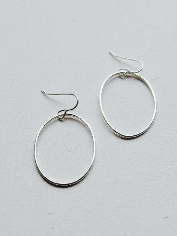 Lynsey de Búrca Coolin Oval Drop Earrings